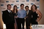 Match.com Executives with 2 Awards (Best Dating Site and Best Dating Site Design) at the 2010 iDate Awards