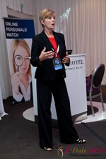 Ann Robbins (CEO of eDateAbility) at the 2011 California Online Dating Summit and Convention