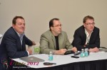 IDEA Session Panel - Max McGuire, Brian Bowman and Lorenz Bogaert at the January 23-30, 2012 Miami Internet Dating Super Conference