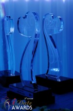 iDate Award Trophies at the 2012 iDate Awards