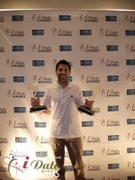 Joel Simkhai - Grindr.com - Winner of 2 Awards in 2012 in Miami Beach at the January 24, 2012 Internet Dating Industry Awards