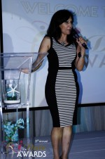 Comedienne Amy Tinoco in Miami Beach at the January 24, 2012 Internet Dating Industry Awards