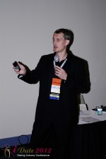 Dmitry Gritsenko - CEOMaster of Code at the 2012 Miami Digital Dating Conference and Internet Dating Industry Event