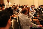 Audience and Beer at the Final Panel  at the June 20-22, 2012 Mobile Dating Industry Conference in California