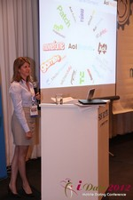 Amanda Mills (Director of Product at AOL Mobile) at the June 20-22, 2012 Mobile Dating Industry Conference in California