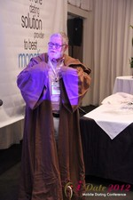 Jonathan Crutchley (Chairman at Manhunt) is actually Obi Wan Kenobi! at the 2012 Internet and Mobile Dating Industry Conference in California