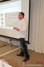 Ryan Gray (Co-Founder of IMGrind) at the Mobile Marketing Pre-Conference at the iDate Mobile Dating Business Executive Convention and Trade Show
