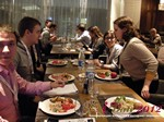 Lunch at the Russian iDate Mobile Dating Business Executive Convention and Trade Show