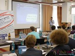 Daniele Antoniani (Community Manager @ Mail.ru) at the 2013 E.U. Online Dating Industry Conference in Germany