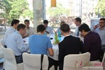 Lunch at the 2013 E.U. Online Dating Industry Conference in Germany