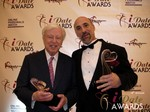 Dr. Warren & Paul Falzone in Las Vegas at the January 17, 2013 Internet Dating Industry Awards