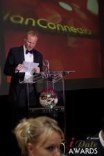 Dan Winchester reading on behalf of ChristianConnection.co.uk, winner of Best Niche Dating Site at the 2013 Internet Dating Industry Awards Ceremony in Las Vegas