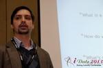 Arthur Malov (Internationl Dating Coach Association) at the January 16-19, 2013 Las Vegas Online Dating Industry Super Conference