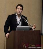David Benoliel (VP of Avid Life Media) at the 2013 Internet Dating Super Conference in Las Vegas