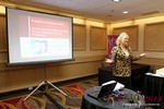 Julie Ferman (eLove / Cupids Coach) at the 33rd International Dating Industry Convention
