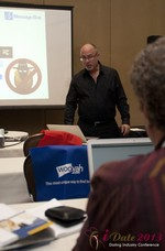 Neil Schwartzman (President at Message Bus) at the January 16-19, 2013 Las Vegas Online Dating Industry Super Conference