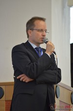 Dieter Plassman, CTO at Net-M  at the 2014 E.U. Online Dating Industry Conference in Köln