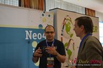 Exhibit Hall, Neo4J Sponsor  at the 2014 E.U. Online Dating Industry Conference in Köln