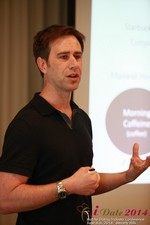 Author Neal Cabage Of The Smarter Startup at the 38th Mobile Dating Business Conference in Los Angeles