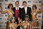 Mark Brooks & Markus Frind  at the 2014 Internet Dating Industry Awards Ceremony in Las Vegas