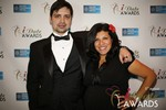 Arthur Malov & Damona Hoffman  at the 2014 iDate Awards