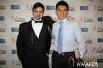 Arthur Malov & Kevin Feng  at the 2014 iDate Awards Ceremony