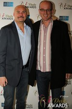 Sean Kelley & Benoit Le Chevallier  at the January 15, 2014 Internet Dating Industry Awards Ceremony in Las Vegas