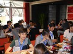 Lunch at the 2015 China Internet Dating Industry Conference in Beijing