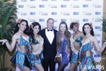 Ken Agee and Svetlana Mucha at the 2015 Internet Dating Industry Awards Ceremony in Las Vegas