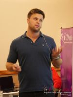 Ben Lambert CEO Clocked Io Speaking At CEO Therapy at the United Kingdom & European Union iDate conference and expo for matchmakers and online dating professionals in 2015