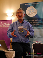 Dave Wiseman Vice President Of Sales And Marketing Speaking To The European Dating Market On Scam Detection Technology at the 12th annual Euro and U.K. iDate conference matchmakers and online dating professionals in London