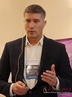 Hristo Zlatarsky CEO Elitebook.bg With Insights On The Bulgarian Mobile And Online Dating Market at the 12th annual UK iDate conference matchmakers and online dating professionals in London