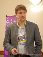 Kevin Gibbons CEO Of Blueglass And Welovedates On Marketing Strategy For Mobile And Online Dating Sites  at the 2015 London Euro and U.K. Mobile and Internet Dating Expo and Convention