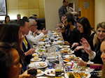 Lunch Among European And Global Dating Industry Executives   at the October 14-16, 2015 Mobile and Online Dating Industry Conference in London