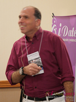 Marc Lesnick Speaking On Utail And Social Promotion For Dating Operators   at the 12th annual Euro and U.K. iDate conference matchmakers and online dating professionals in London
