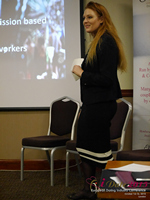 Megan Buquen CEO Matchmakers Circle  at the UK iDate conference and expo for matchmakers and online dating professionals in 2015