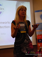 Monica Whitty Professor Of Psychology University Of Liecester at the 2015 London UK Mobile and Internet Dating Expo and Convention