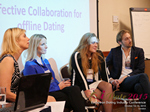 Panel On Effective Collaboration For Offline Dating At at the October 14-16, 2015 event for global online dating and matchmaking professionals in London