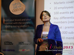 Pauline Tourneur General Manager Of Attractive World Speaking On The French Online And Mobile Dating Market  at the 12th annual UK iDate conference matchmakers and online dating professionals in London