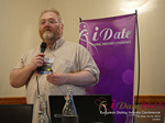 Wayne May CEO of Scam Survivors on The Latest European Romance Scams Methodologies at the 42nd international iDate conference for global dating professionals in London