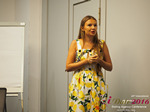 Svetlana Mukha - CEO of Diolli at the 45th Dating Agency Industry Conference in Limassol,Cyprus