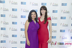 Damona Hoffman and Julie Spira  at the 7th annual iDate Awards Ceremony