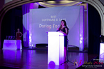 Jenny Gonzalez of Dating Factory Winner of Best Dating Software & Saas at the 2016 iDateAwards Ceremony in Miami held in Miami