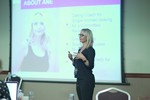Ane Auret, CEO, presenting on Coaching Programs that work at the September 26-28, 2016 conference and expo for online dating and matchmaking in Londres