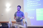 Taha Yasseri, Research Fellow in Computational Social Science from University of Oxford, presenting a statistical description of mobile dating communications. at the 2016 Londres Reino Unido & União Europeia Mobile and Internet Dating Expo and Convention