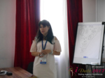 Elena Vygnanyuk at the 2017 Misnk, Belarus Dating Agency Summit and Convention