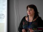 Irina Matulkova at iDate2017 Misnk, Belarus