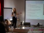 Julia Lanske at the July 19-21, 2017 Premium International Dating Industry Conference in Misnk, Belarus