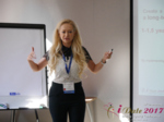 Julia Lanske at the 49th Dating Agency Business Conference in Misnk, Belarus