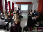 Julia Meszaros at the 49th Dating Agency Business Conference in Misnk, Belarus